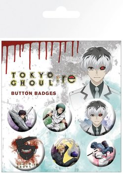 Tokyo Ghoul - Mix Badge Pack