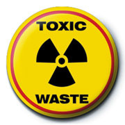 TOXIC WASTE Badge