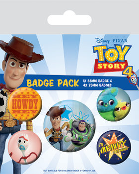 Toy Story 4 - Friends for Life Badge Pack