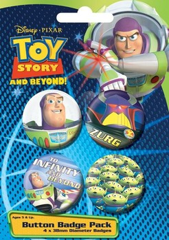 Badges TOY STORY - espacio