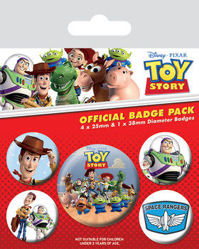 Badges Toy Story - Woody & Buzz