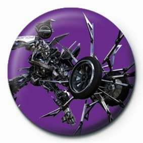 TRANSFORMERS - barricude Badges