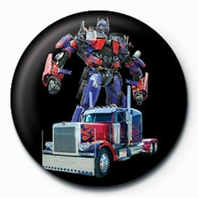 TRANSFORMERS - optimus Badge