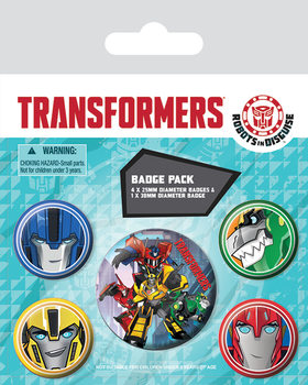 Transformers Robots In Disguise - Robots Badge Pack