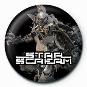 TRANSFORMERS - star scream Badges