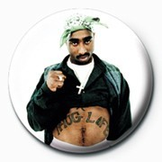 Tupac - Thug Life Badge