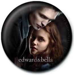TWILIGHT - ed and bella Badge