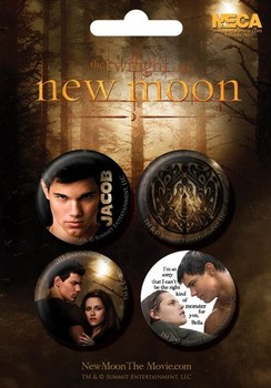 TWILIGHT NEW MOON - jacob Badges