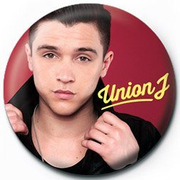 UNION J - jj Badge