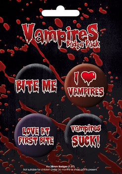 Badges VAMPIRE GB Pack