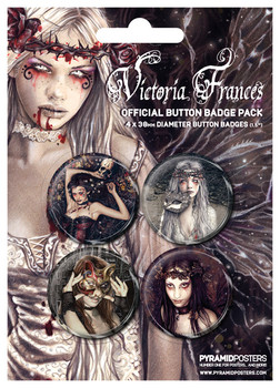 VICTORIA FRANCES 2 Badge Pack