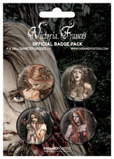 VICTORIA FRANCES Badge Pack