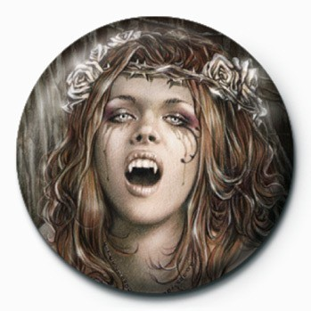VICTORIA FRANCES - vampire Badge
