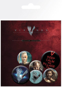 Vikings - Mix Badge Pack