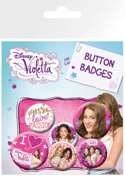Badge set VIOLETTA - This Is Me