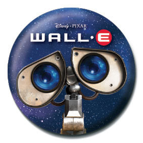 WALL E - eyes Badge