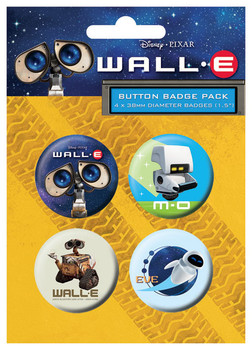 WALL-E Badge Pack