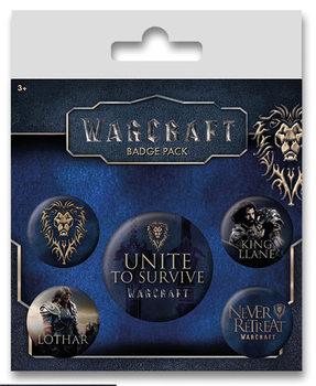 Badges Warcraft : Le Commencement - The Alliance