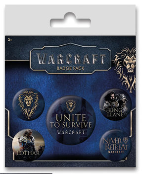 Warcraft - The Alliance Badge Pack