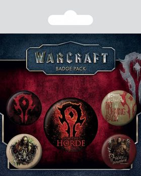 Warcraft - The Horde Badge Pack