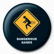 WARNING SIGN - DANGEROUS G Badge