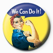 WE CAN DO IT Badge