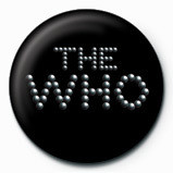 WHO - pinball logo Badge
