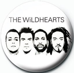 WILDHEARTS (WHITE) Badges