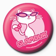 WithIt (Glamour Puss) Badge