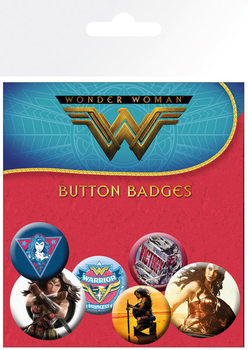 Wonder Woman - Mix Badge Pack