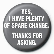 YES, I HAVE PLENTY OF Spar Badges