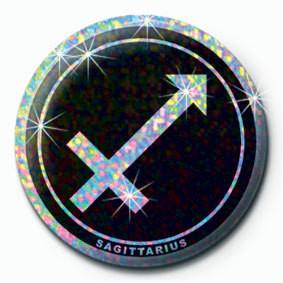 ZODIAC - Sagittarius Badges