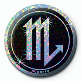 ZODIAC - Scorpio Badge