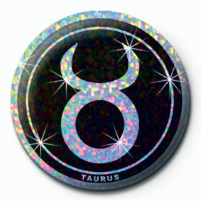 ZODIAC - Taurus Badges