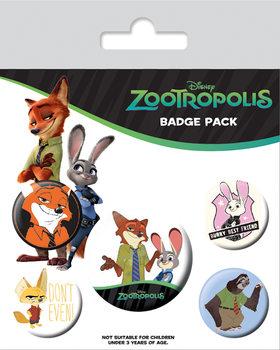 Zootropolis - Bunny Best Friend Badge Pack