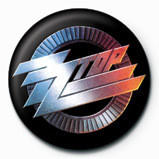 ZZ TOP - logo Badge