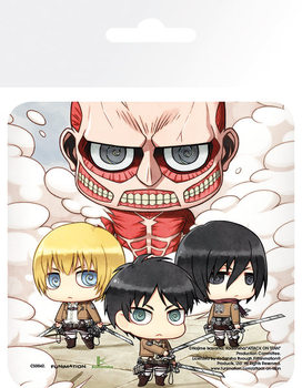 Bases para copos Attack On Titan (Shingeki no kyojin) - Group