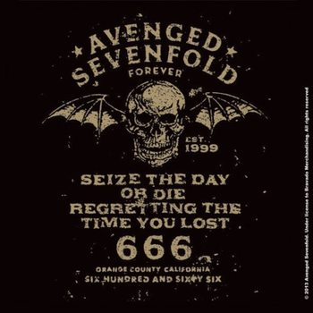 Bases para copos Avenged Sevenfold - Sieze The Day