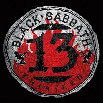 Bases para copos Black Sabbath - 13 Flame Circle