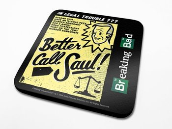 Bases para copos Breaking Bad - Better Call Saul!
