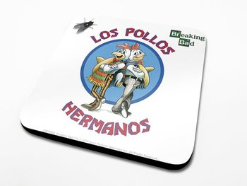 Bases para copos Breaking Bad - Los Pollos Hermanos