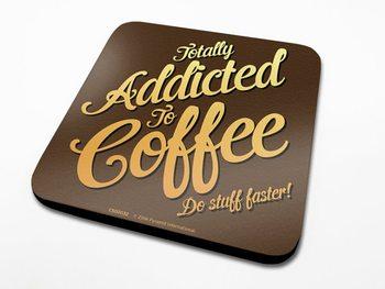 Bases para copos Coffee Addict