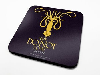 Bases para copos  Game of Thrones - Greyjoy