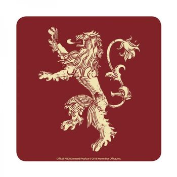 Bases para copos  Game of Thrones - Lannister