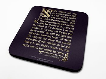 Bases para copos Game of Thrones - Oath