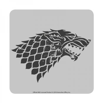 Bases para copos  Game of Thrones - Stark