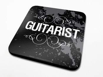Bases para copos Guitarist