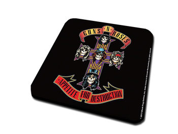 Bases para copos  Guns N Roses - Appetite For Destruction