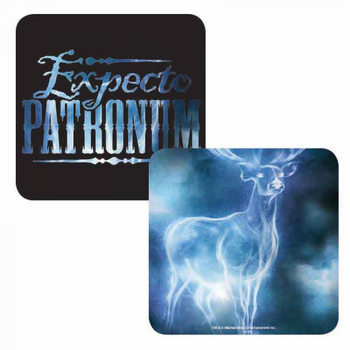Bases para copos Harry Potter - Expecto Patronum