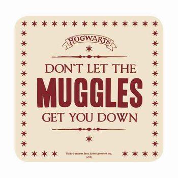 Bases para copos Harry Potter - Muggles